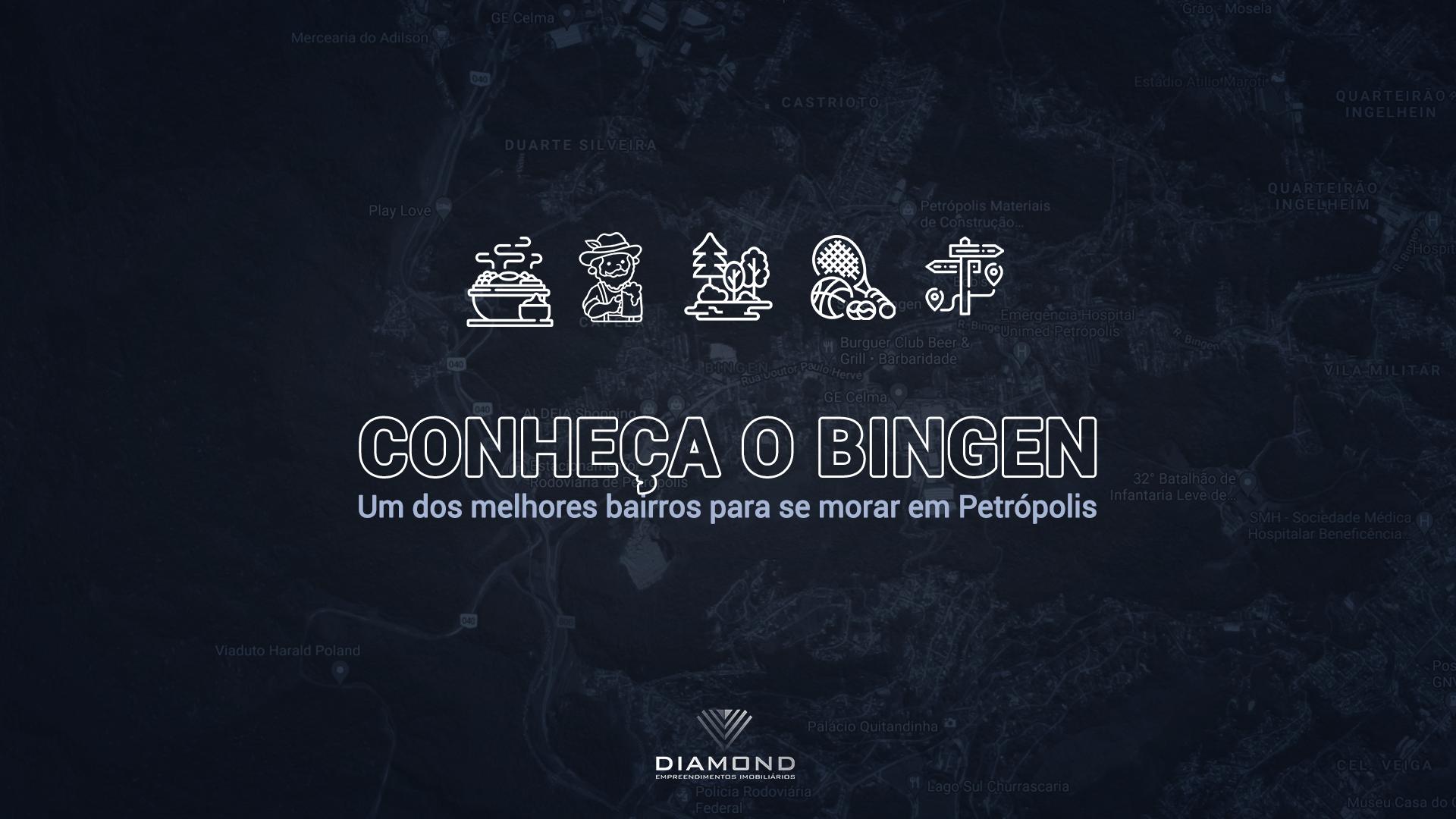 Conheça o Bingen - um dos melhores bairros para se morar em Petrópolis